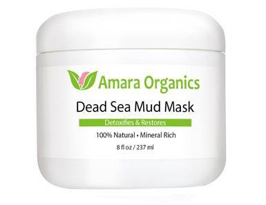 amara organics dead sea mud mask for face