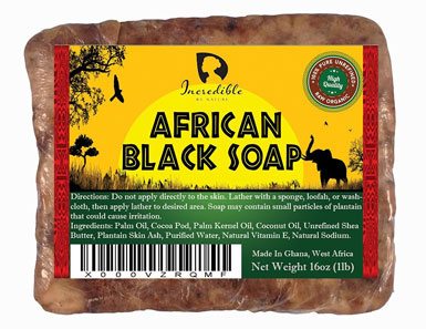 incredible best quality african black soap