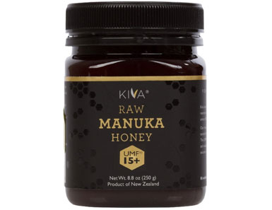 kiva certified umf 15+ raw manuka honey