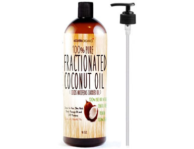 molivera organics fractionated coconut oil
