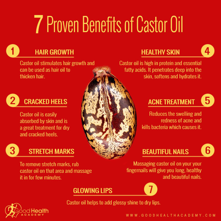 benefits of castor oil