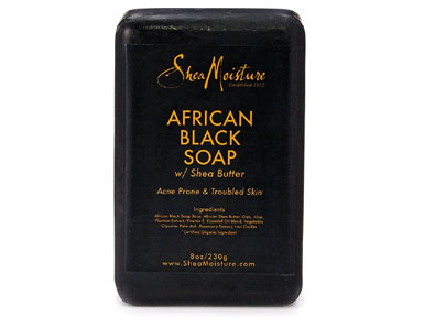 shea moisture african black soap bar