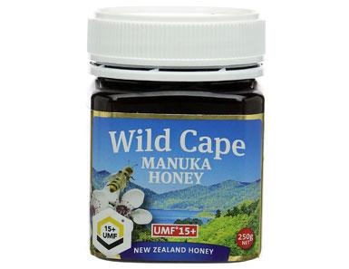 wild cape umf 15 east cape manuka honey